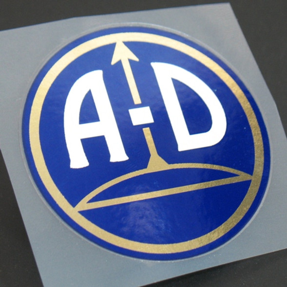 Austro-Daimler Head Badge Decal (sku 1091)