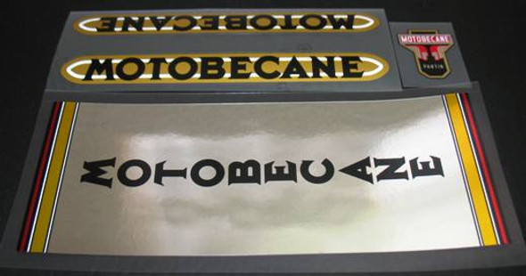 Motobecane Chrome Decal Set