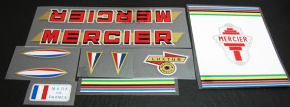 Mercier Bicycle Chrome Decal set (sku Mrcr-S106)