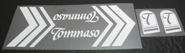 Tommaso Bicycle Decal Set (sku 1178)