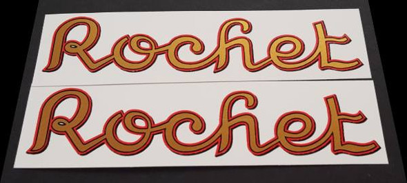 Rochet Down Tube Decals - Pair