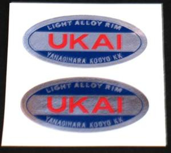UKAI Rim Decals (1 PAIR)