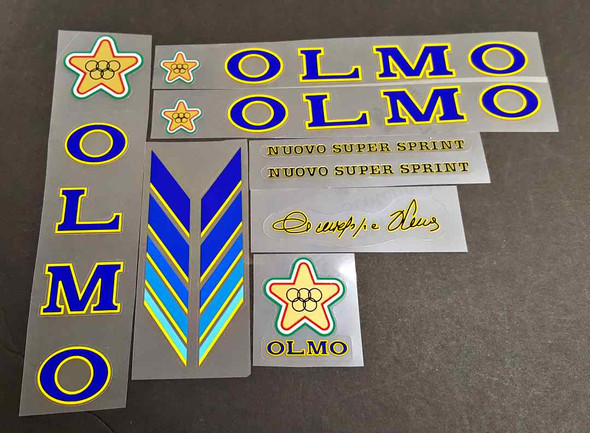 Olmo Nuovo Super Sprint Decal Set