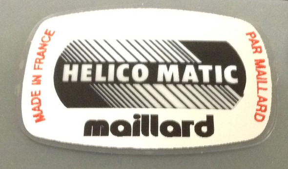 Maillard Helico Matic Spindle Label