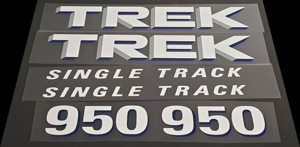 Trek Single Track 950 Decal Set