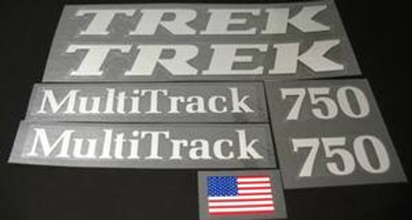 TREK MultiTrack 750 Decal Set