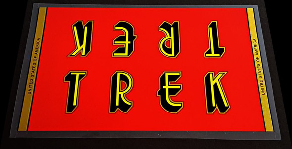 Trek Down Tube Wrap Decal