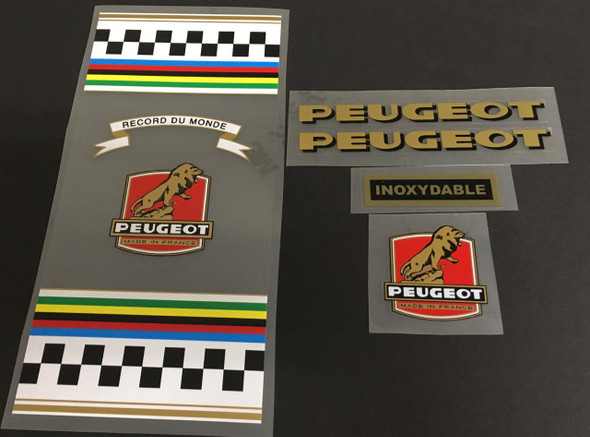 Peugeot 1967 PX-10 Bicycle Decal Set