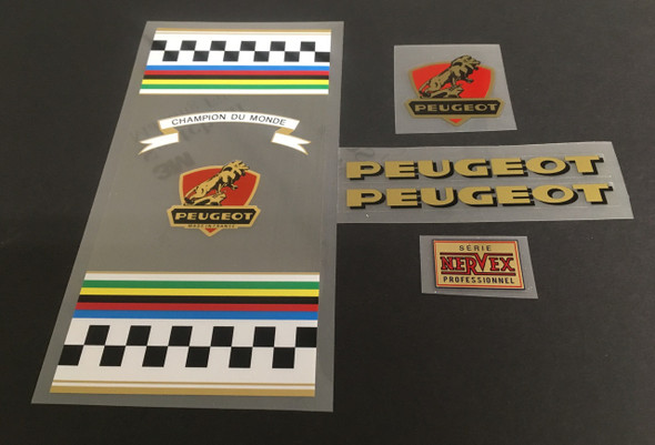 Peugeot 1969 PX-10 Bicycle Decal Set