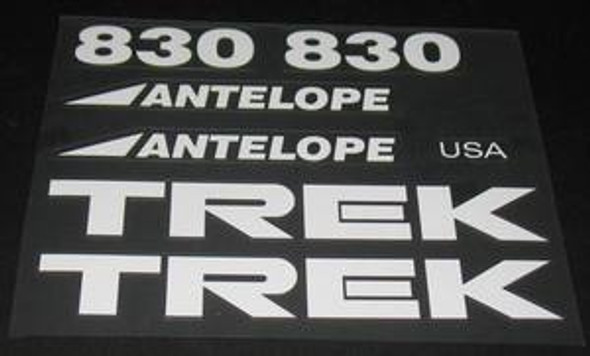 Trek Antelope 830 Decal Set
