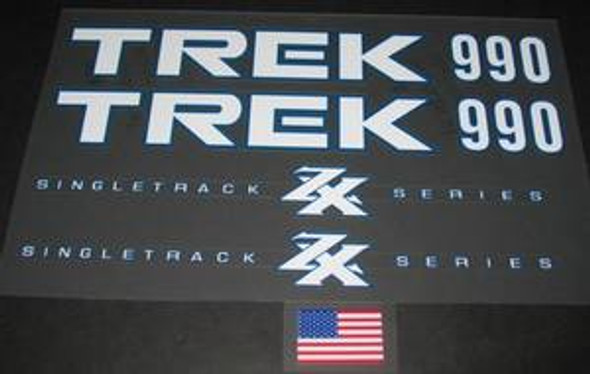 Trek Singletrack 990 ZX Bicycle Decal Set