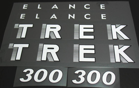 Trek Elance 300 Bicycle Decal Set