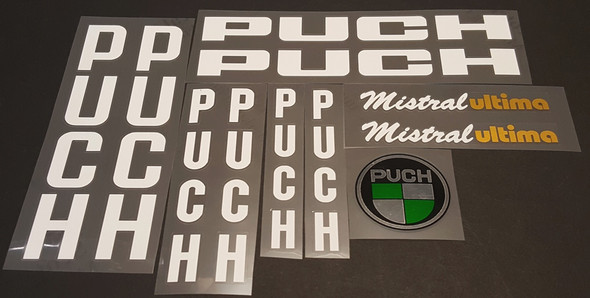 Puch Mistral Ultima Bicycle Decal Set