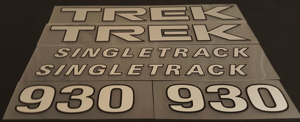 Trek 1994 930 Singletrack Bicycle Decal Set