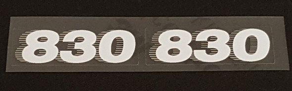 Trek 1980s Seat Tube Decals - 1 Pair - Choose Color & Model