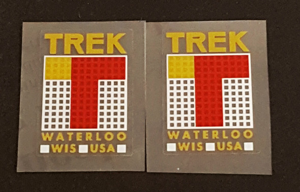 Trek 1980sSeat Tube Decals - 1 Pair - Choice of Colors