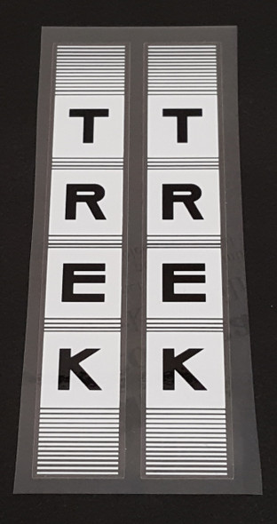 Trek 1980s Fork Decals - 1 Pair - Choice of Colors