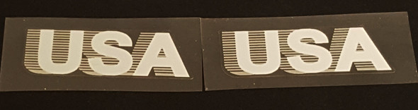 Trek 1980s USA Decals - 1 Pair - Choose Color