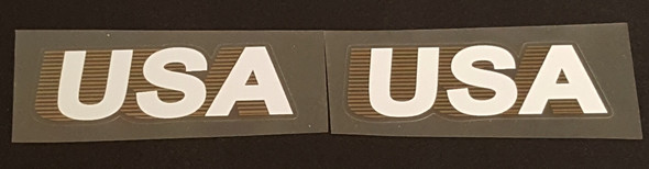 Trek 1980s USA Decals - Italic - 1 Pair - Choose Color