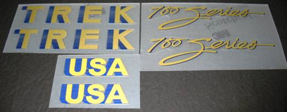 Trek 700 Series Bicycle Decal Set
