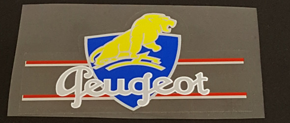 Peugeot Seat Tube Decal