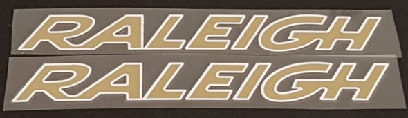 Raleigh Bicycle Down Tube Decals  for Concorde - 1 Pair