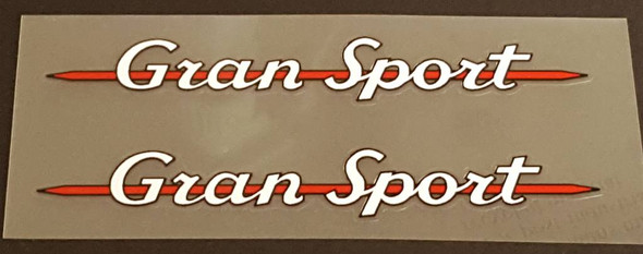 Gran Sport Top Tube Decals - 1 Pair