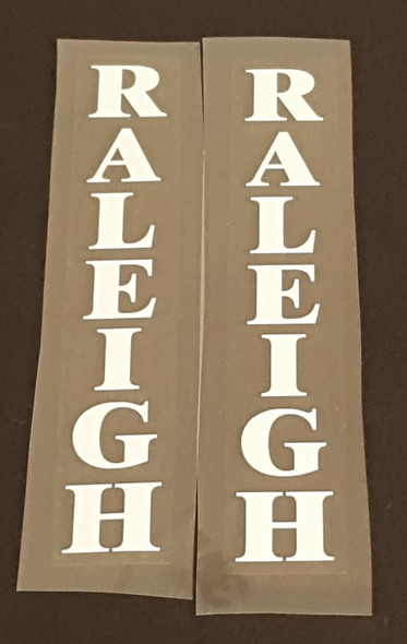 Raleigh Fork Decals - 1 Pair - Choose Color