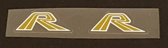 Fork Decals Gold  - 1 Pair