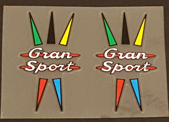 Gran Sport Fork Decals  - 1 Pair