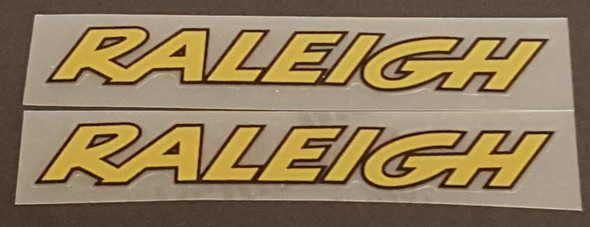 Raleigh Stay Decals Bold - 1 Pair - Choose Colors