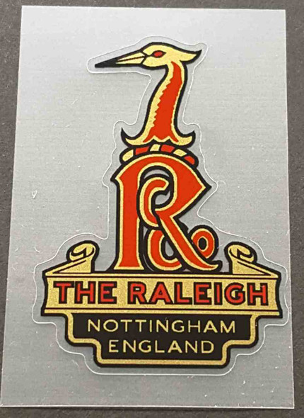 Raleigh Heron Nottingham Head Badge Decal