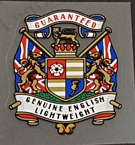 Coat of Arms Lightweight Tubing Decal