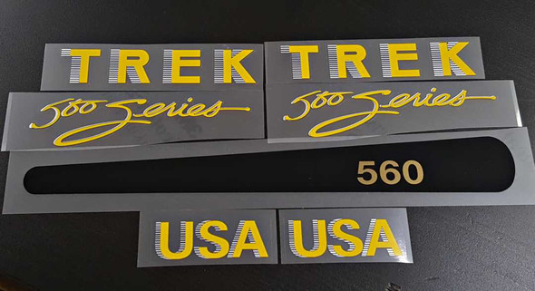 Trek 1985 500 Series Decal Set