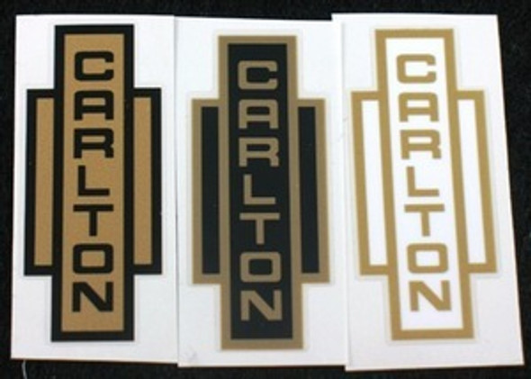 Carlton Seat Tube Decal - Choose Colors