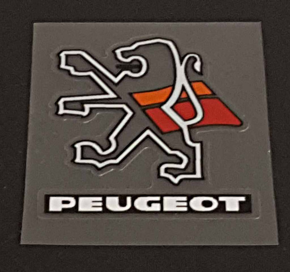 Peugeot Head Badge Decal