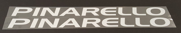 Pinarello Large Format Down Tube Decals 2000s - 1 Pair - Choose Color