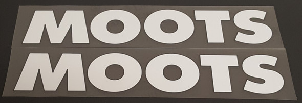 Moots Down Tube Decals - 1 Pair - Choose Colors