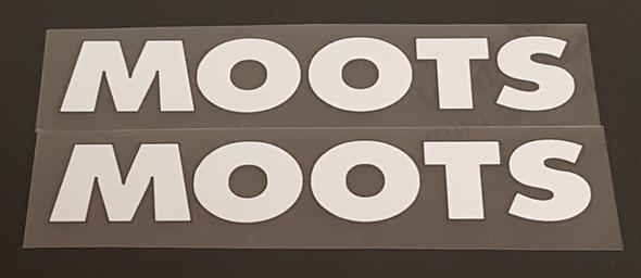 Moots Seat Tube Decals - 1 Pair - Choose Color