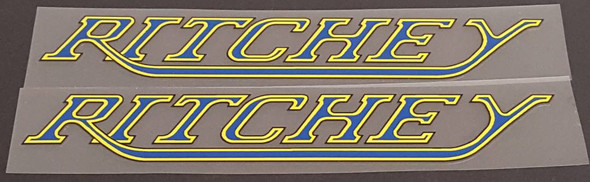 Ritchey Down Tube Decals - 1 Pair - Choice of Colors