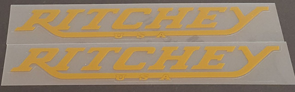 Ritchey USA Down Tube Decals - 1 Pair - Choose Color