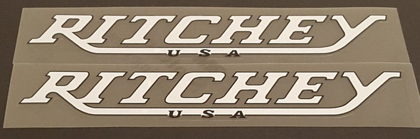 Ritchey USA Down Tube Decals - 1 Pair - Choose Colors