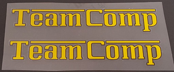 Ritchey Team Comp Top Tube Decals - 1 Pair - Choose Color