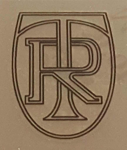 Ritchey Head Badge Decal - Outline on Clear