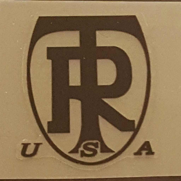 Ritchey USA Head Badge Decal - 1 Color - Choice of Color
