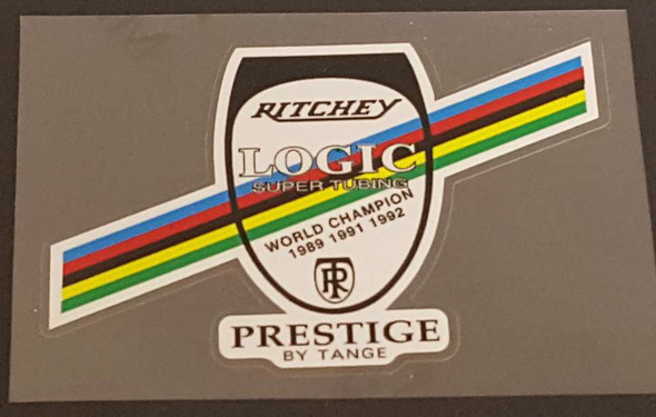 Ritchey Logic Frame Tubing Decal with Olympic Stripes