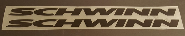 Down Tube Decals  Extended - 1 Pair - Choose Color