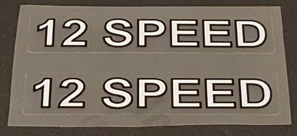 Fuji 12 Speed Stay Decals - 1 Pair - Choose Colors