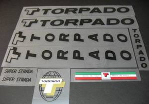 Torpado Decal Set