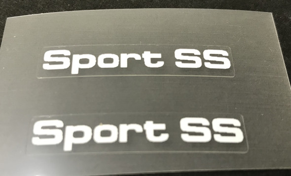 Bianchi Sport SS/SX Top Tube Decals  - 1 Pair - Choose Color
